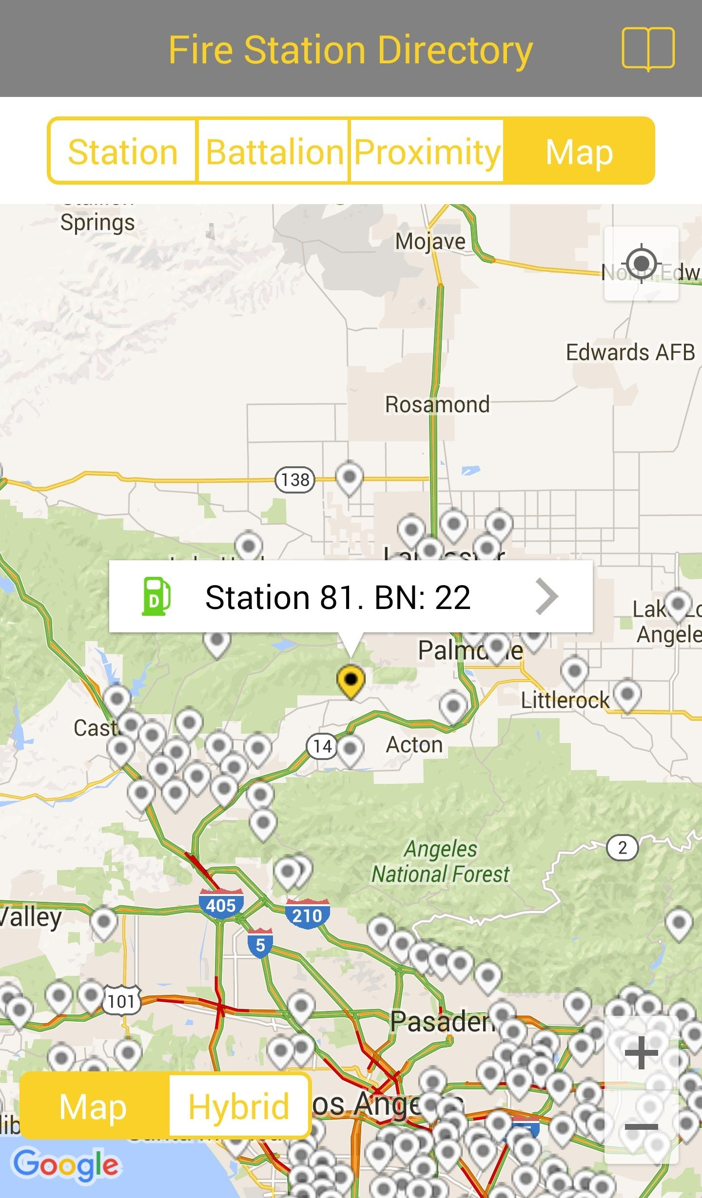 Lacofd Fire Station Directory For Android - Apk Download