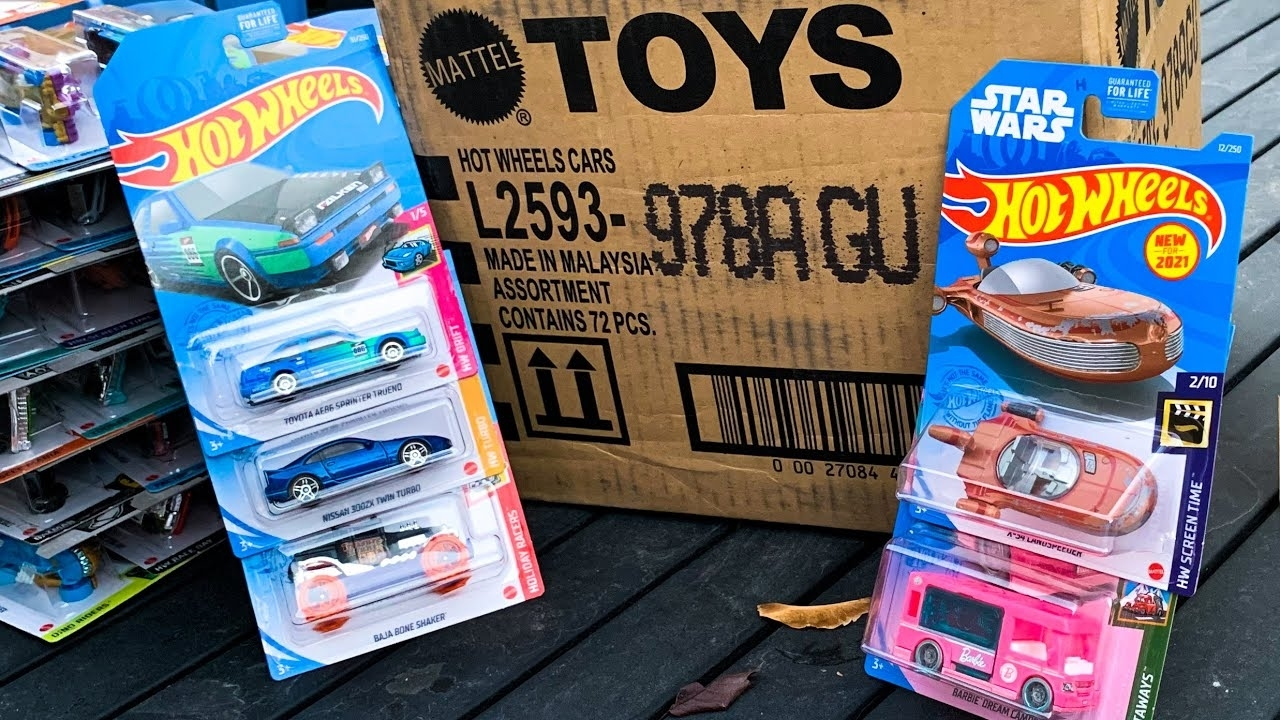 Lamley Outdoor Unboxing: Hot Wheels 2021 A Case (First Case Of The Year!)