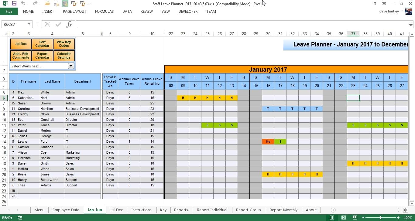 Leave Scheduler -