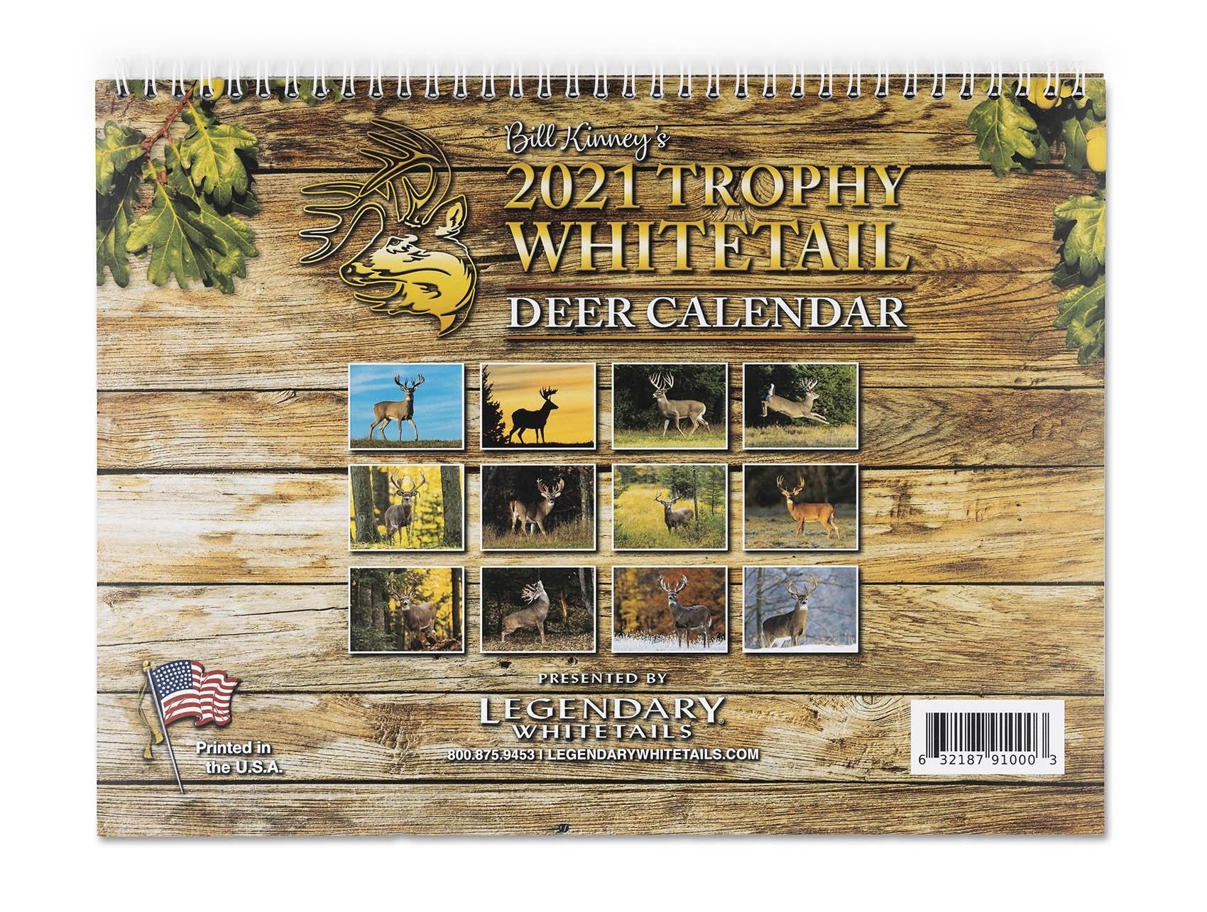 Legendary Whitetails 2021 Calendar