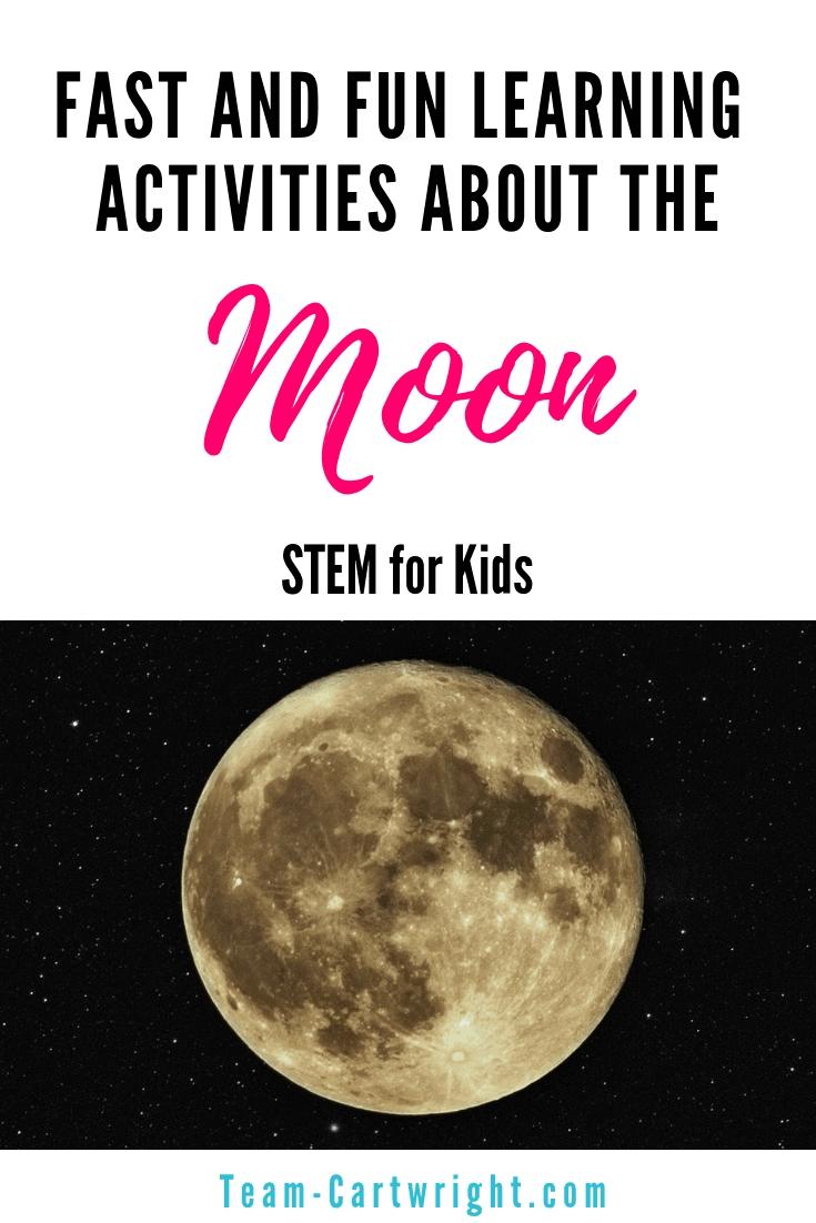 Moon Activities For Preschoolers - Team Cartwright