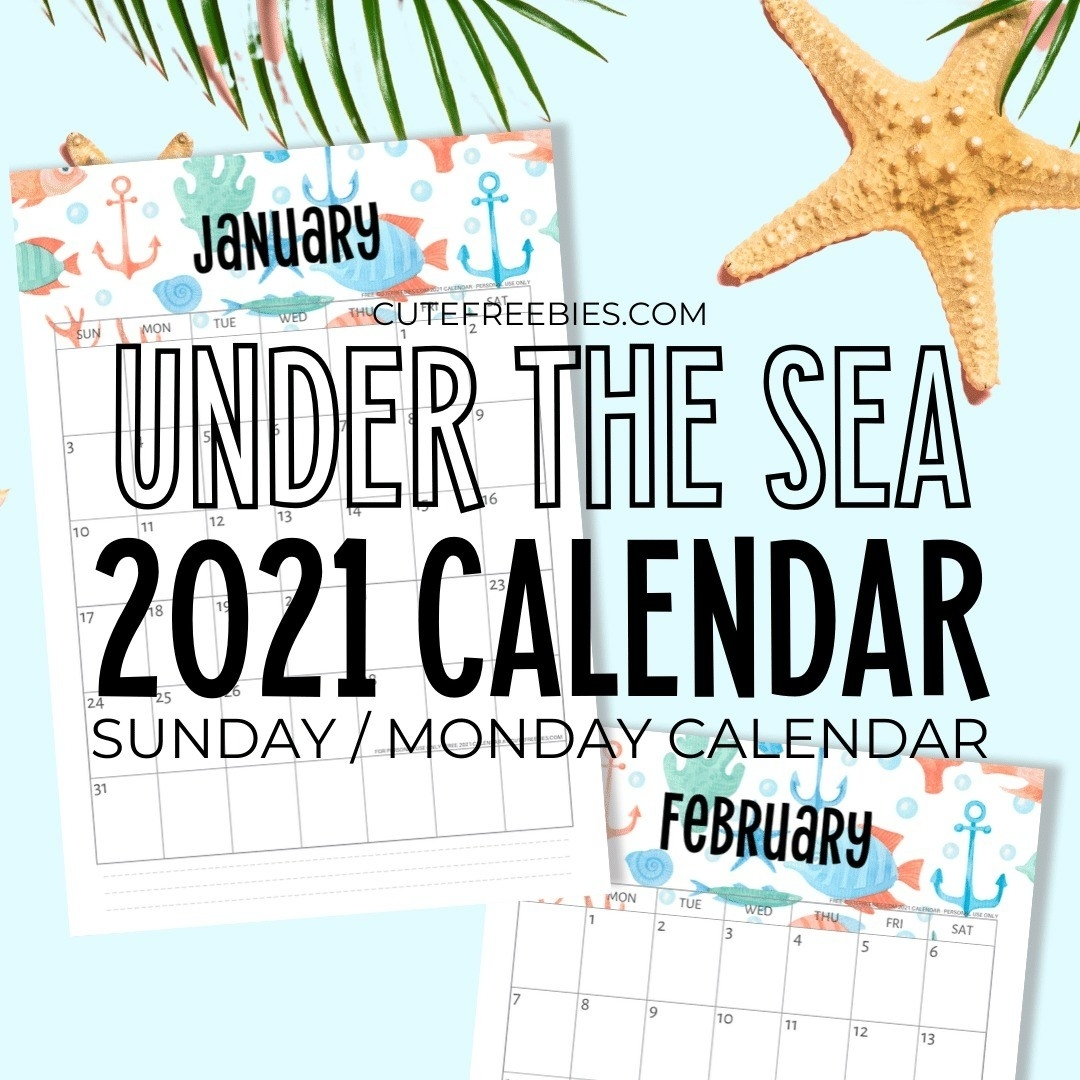 Musings Of An Average Mom: Free Printable 2021 Calendars
