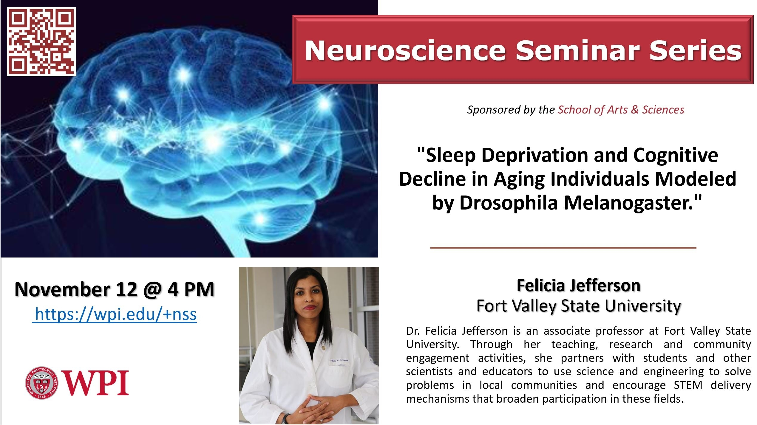 Neuroscience Seminar Series | Events | Calendar | News | Wpi