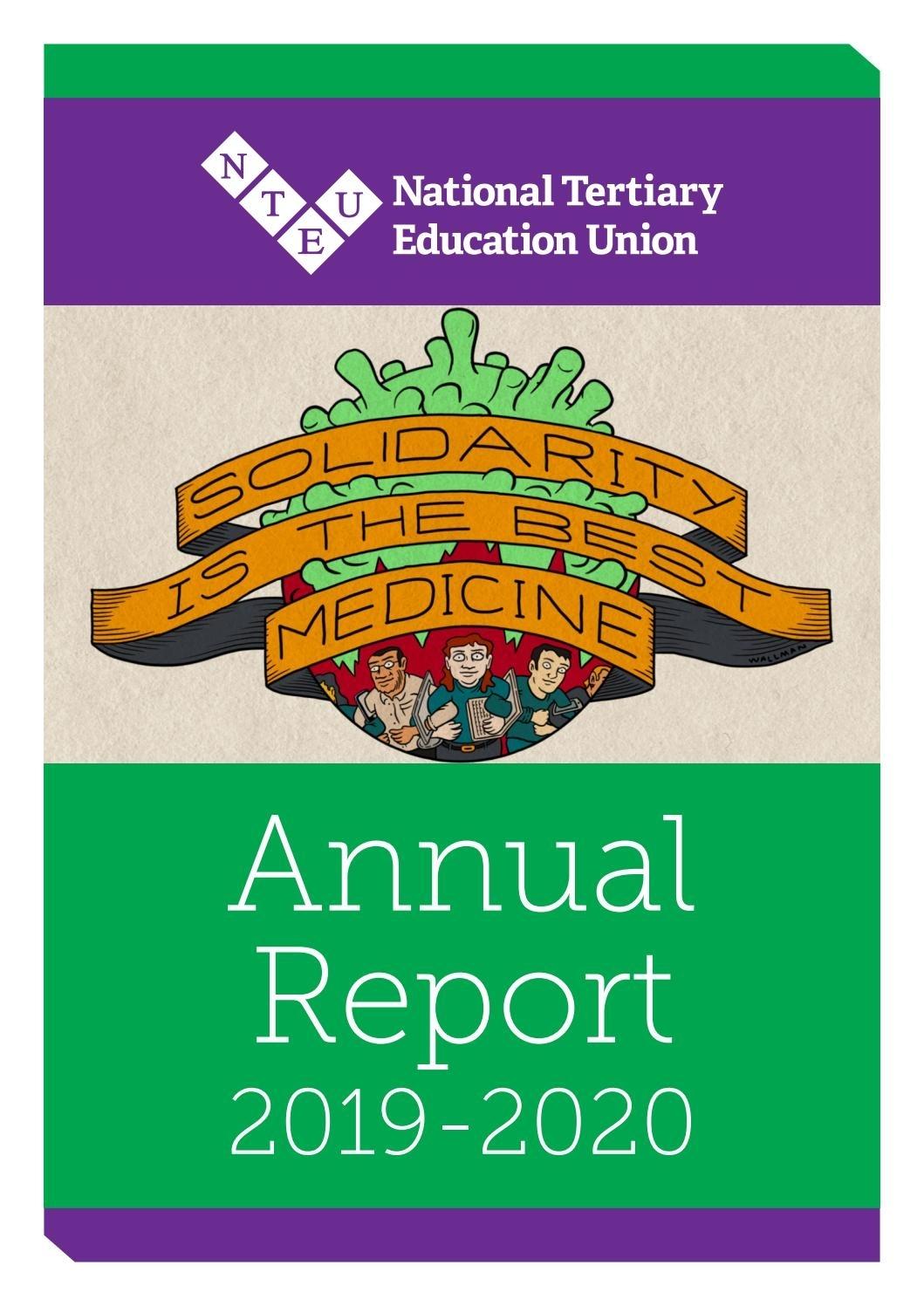 Nteu Annual Report 2019-2020 By Nteu - Issuu