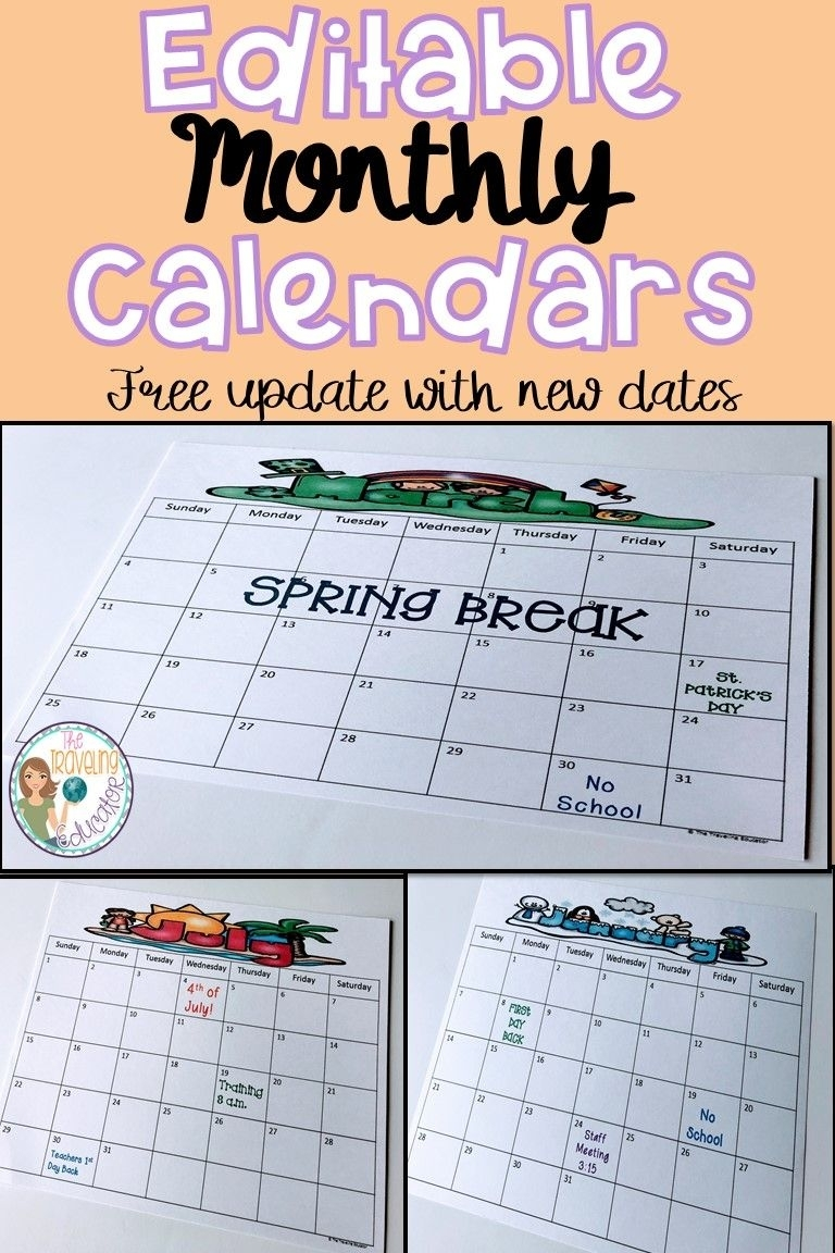On The Lookout For Teacher Or Student Calendars? Check Out