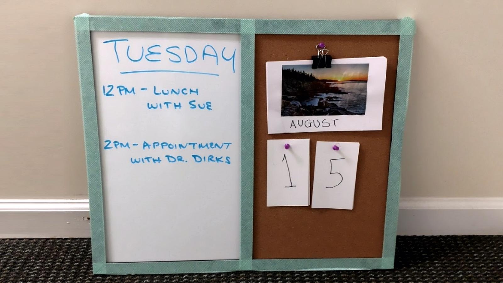Orientation Board: Activities For Dementia Patients