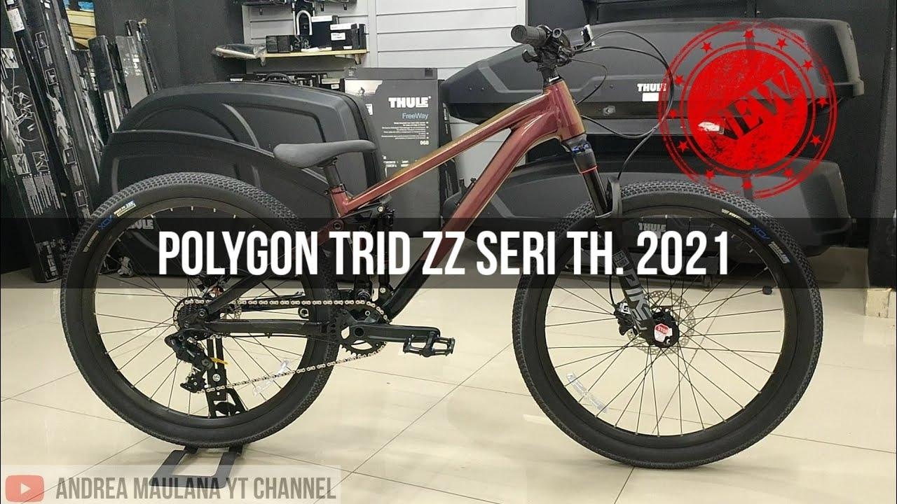 Polygon Trid Zz Seri Th 2021 | Sloopstyle | Freestyle | Dirt Jump