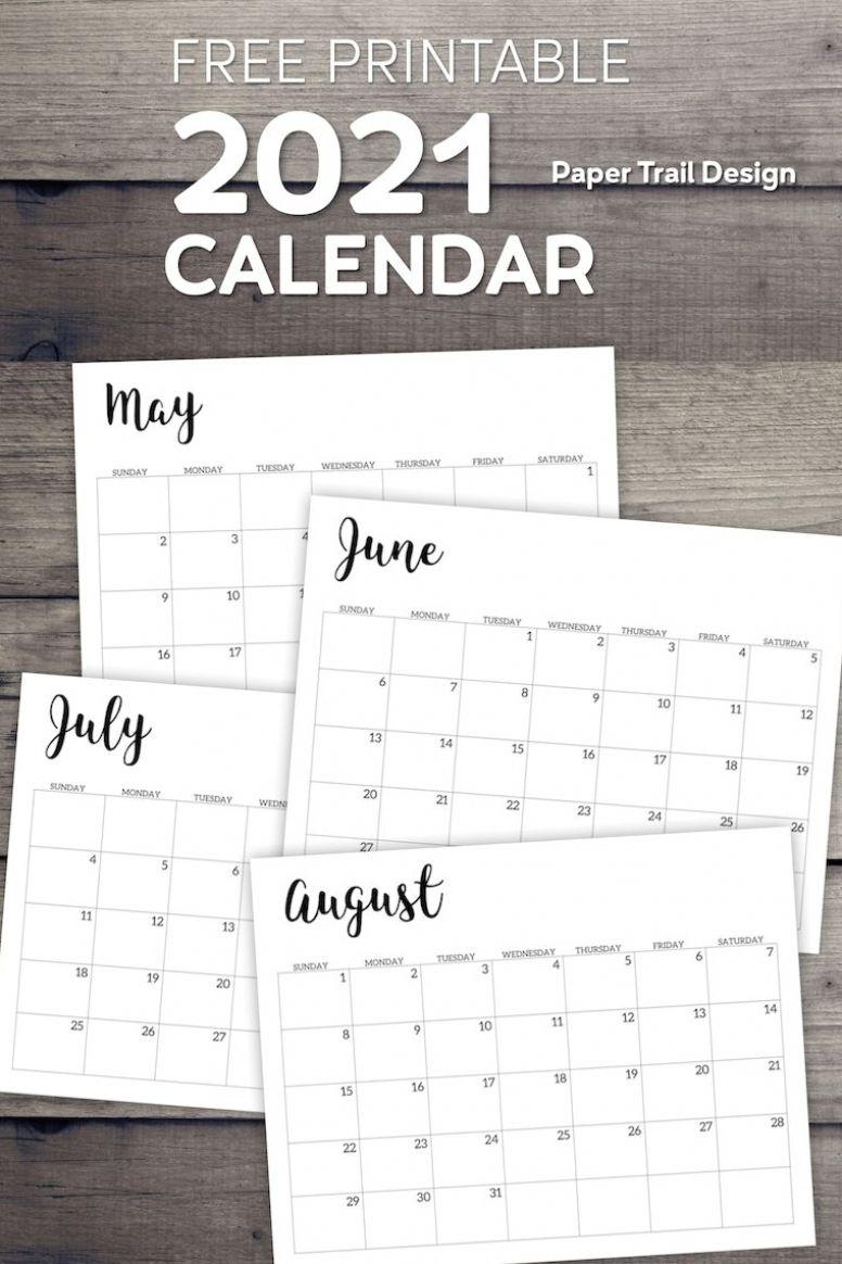 Printable Calendar 2021 January 2021 December 2021 | Etsy In