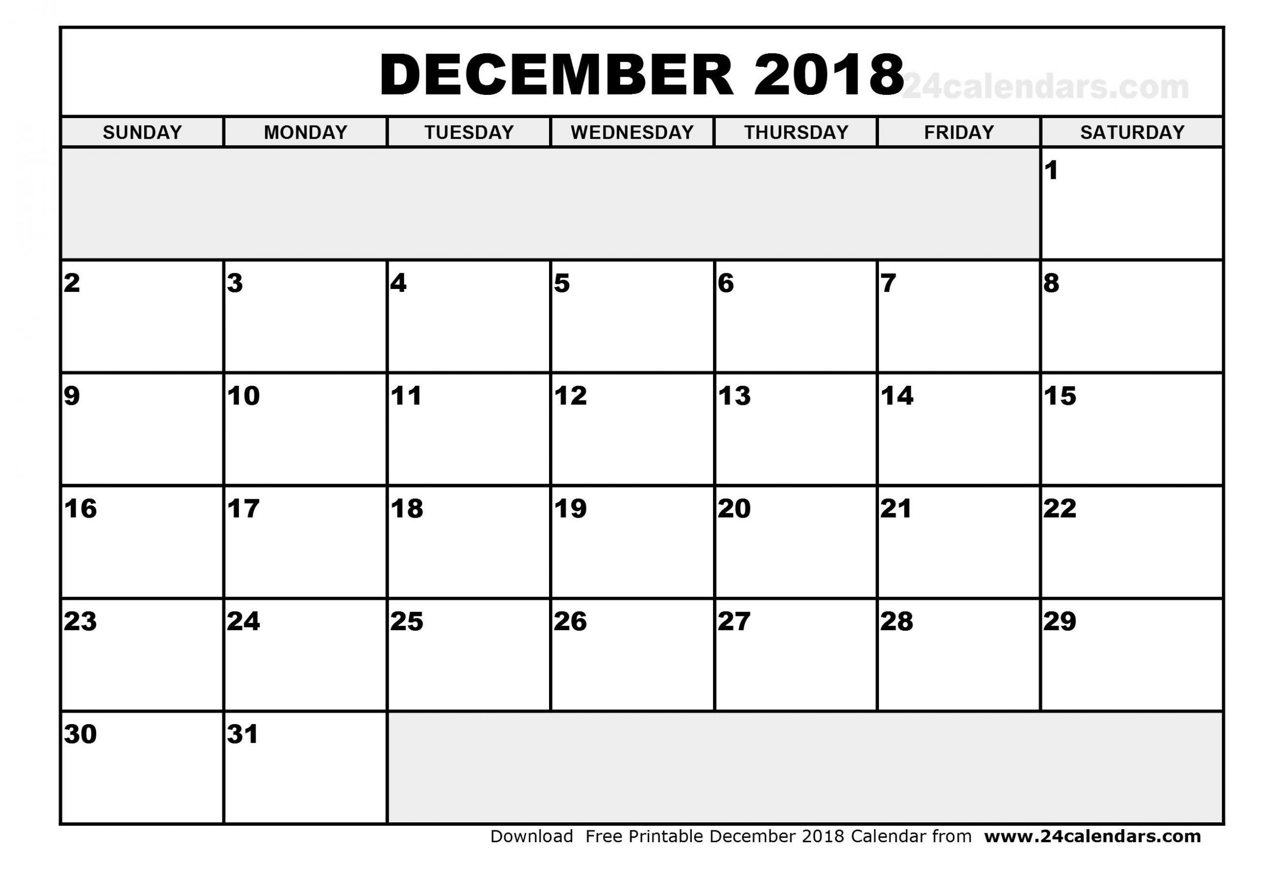 Printable Calendar Large Squares | Blank Monthly Calendar