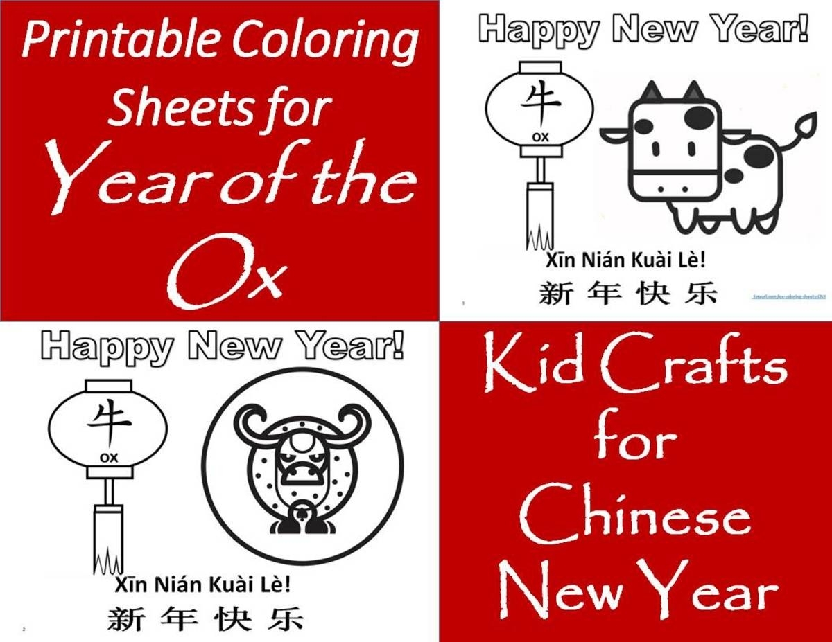 Printable Coloring Pages For The Chinese Zodiac: Year Of The