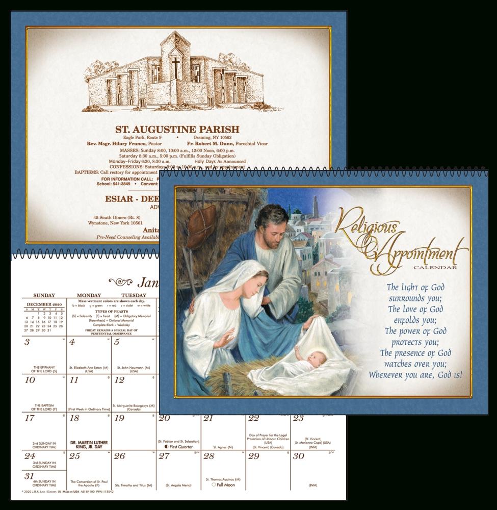 Religious Appointment Custom Calendar | Kellmark Corporation
