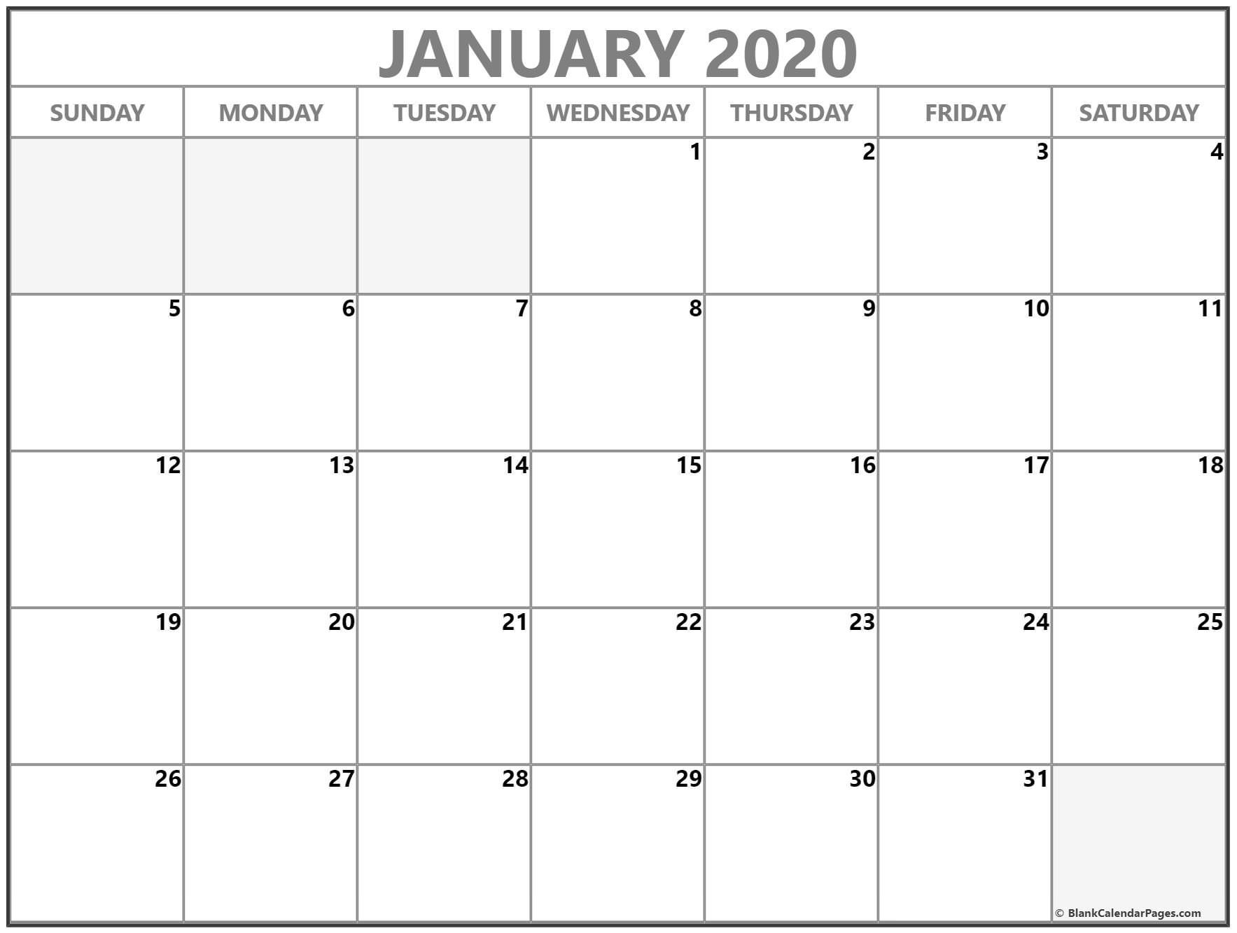Remarkable Free Printable Calendars Without Weekends In 2020