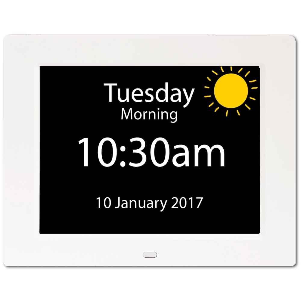 Rosebud Reminder Clock - Dementia Clock