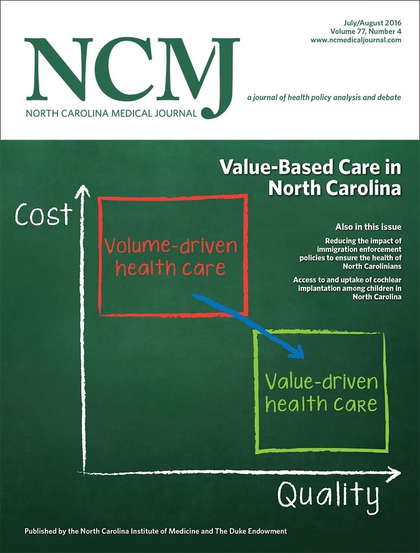 Running The Numbers | North Carolina Medical Journal