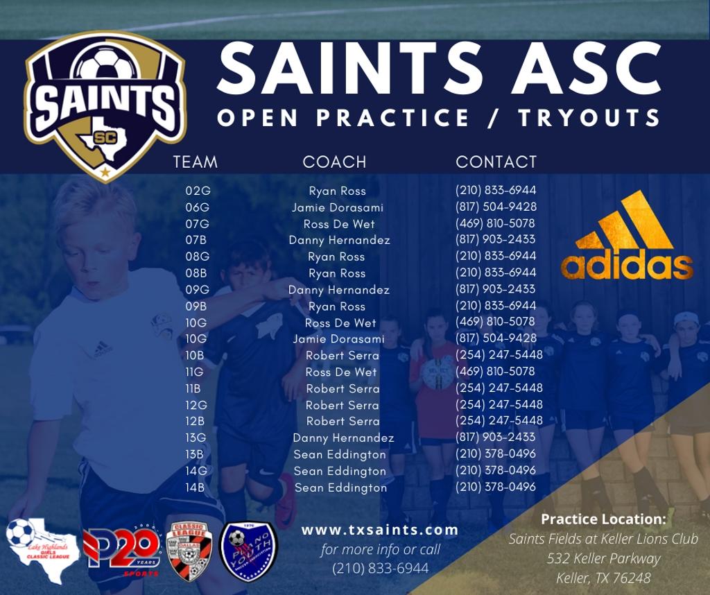 Saints Soccer Club