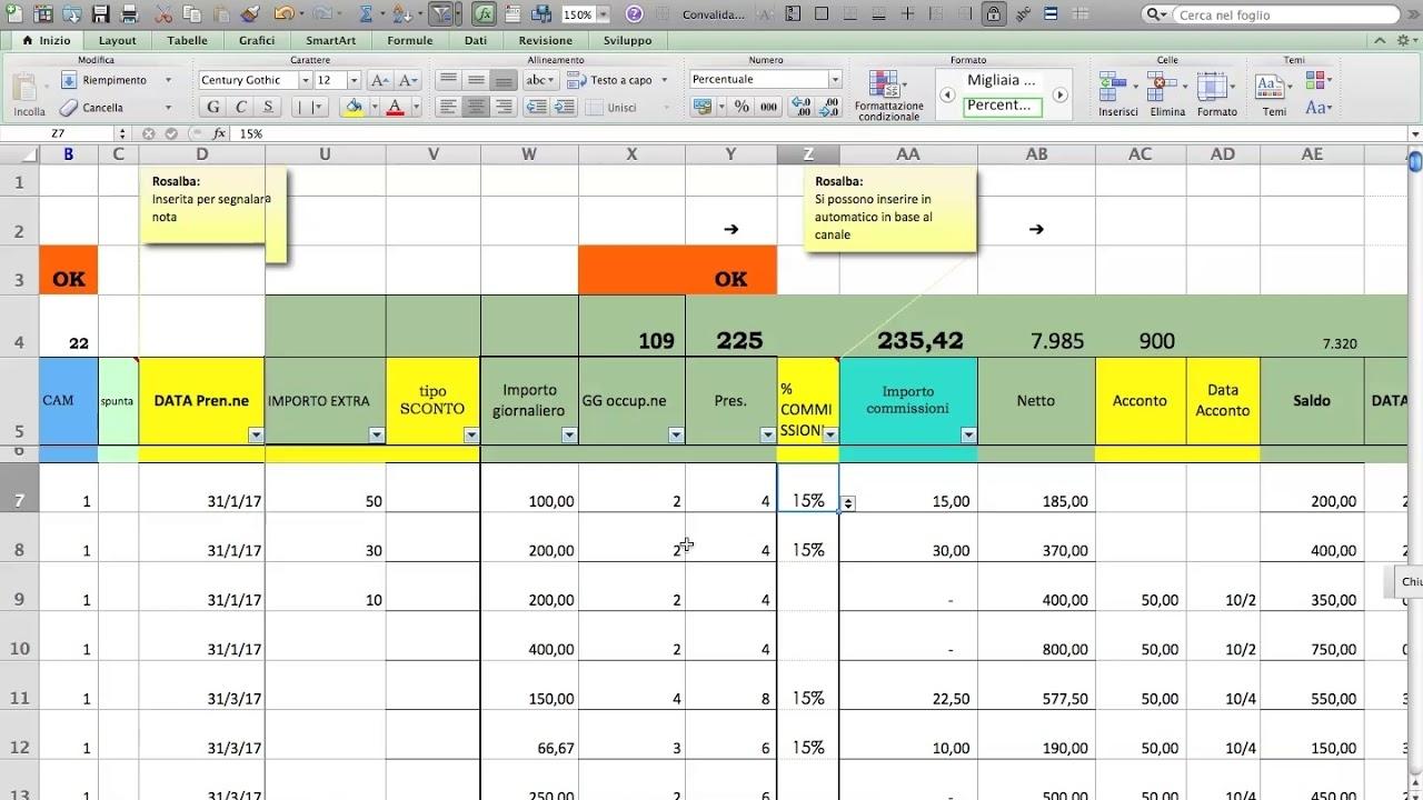 Scarica Programma Feriee In Excel Scadenzario Excel Modello