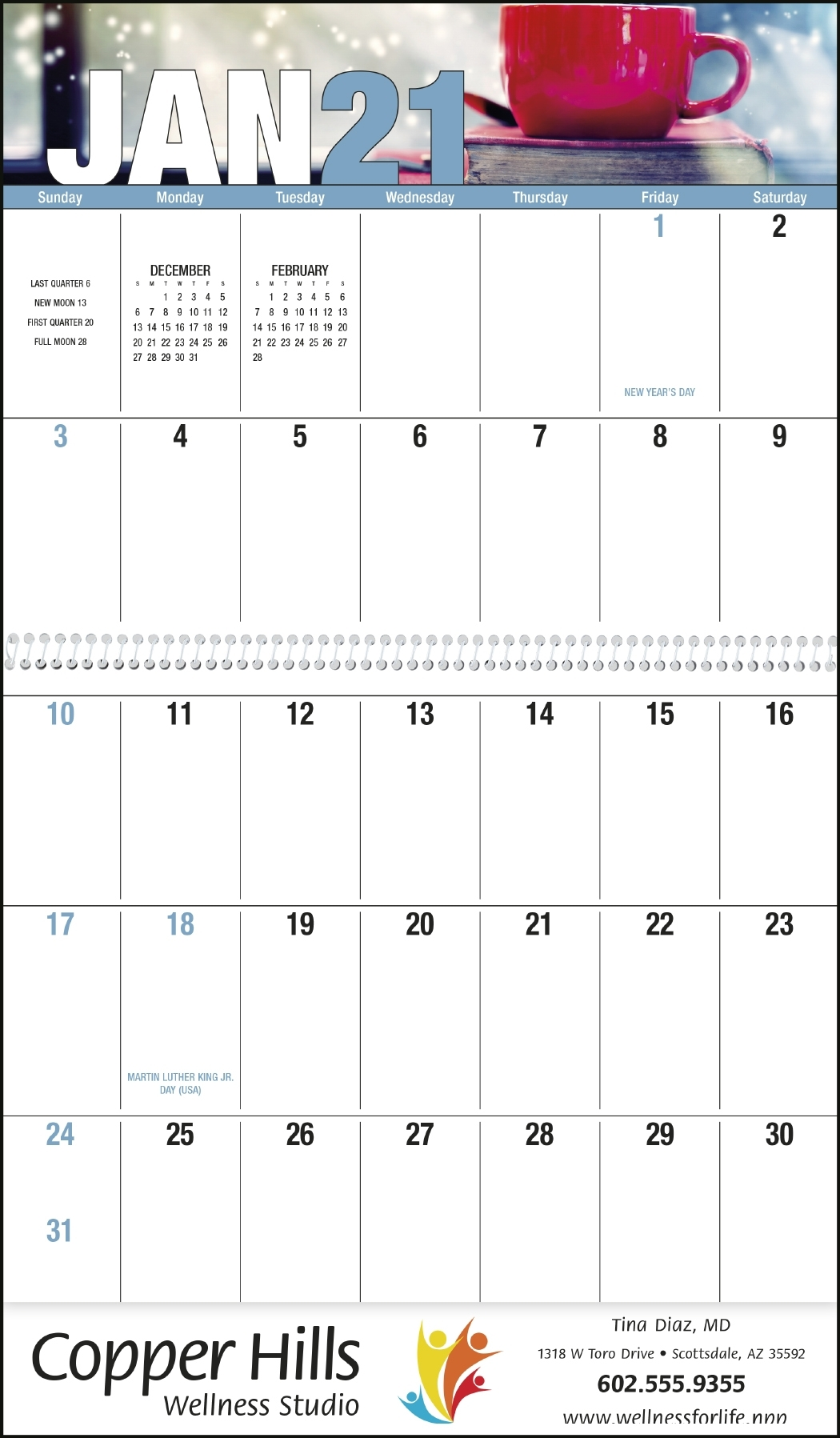 Seasonal Expressions - Big Block Memo - Calendars Now