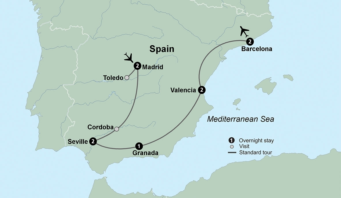 Spain Tour Packages And Trips To Spain | Collette