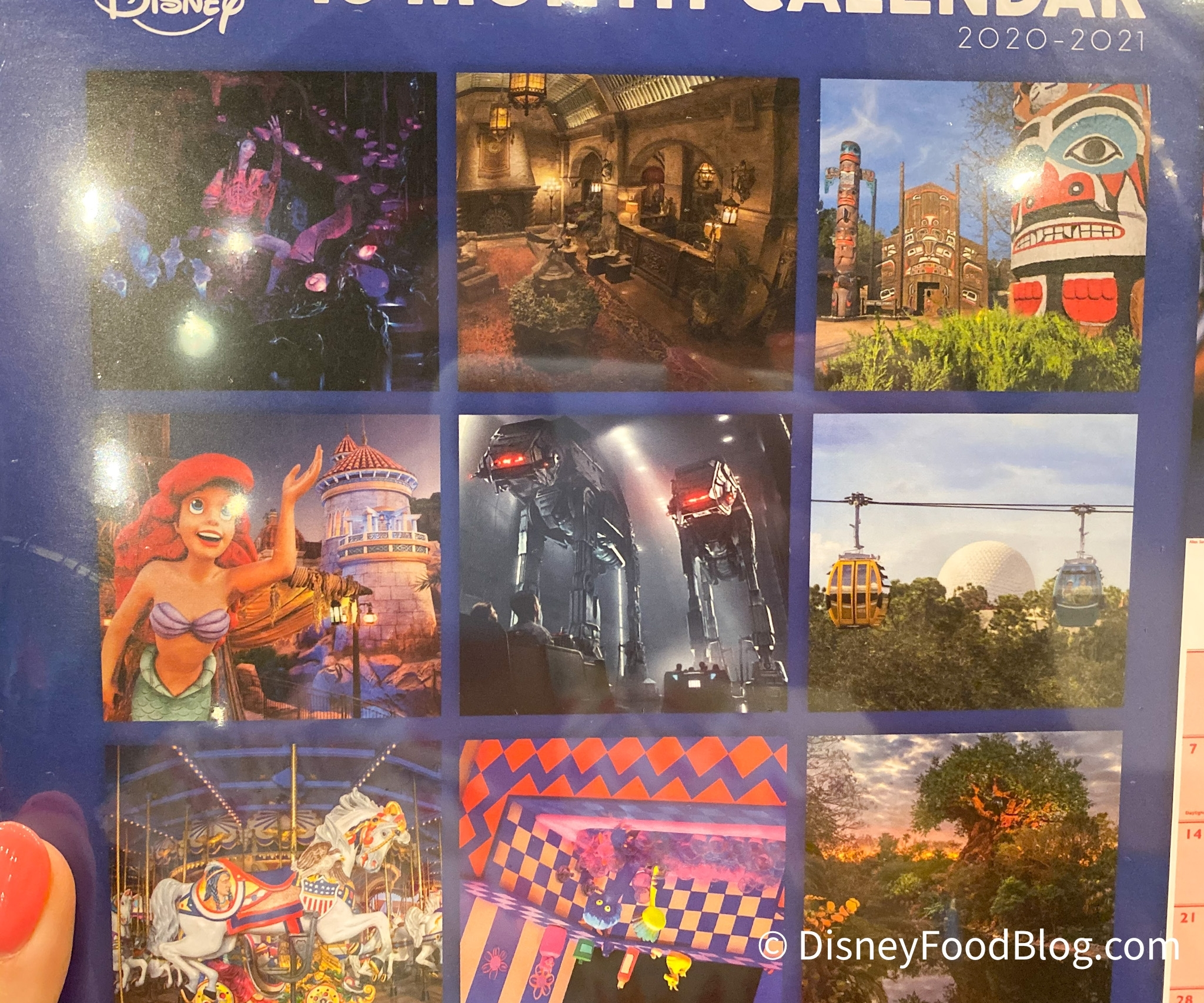 Spotted: A New 2020-2021 Calendar Is Now Available In Disney
