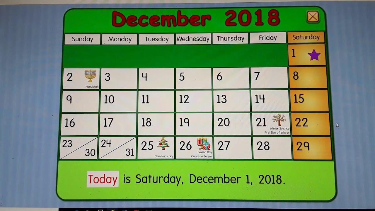 Starfall Calendar January (Page 1) - Line17Qq
