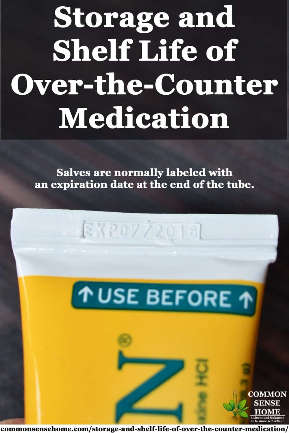 Storage And Shelf Life Of Over-The-Counter Medication