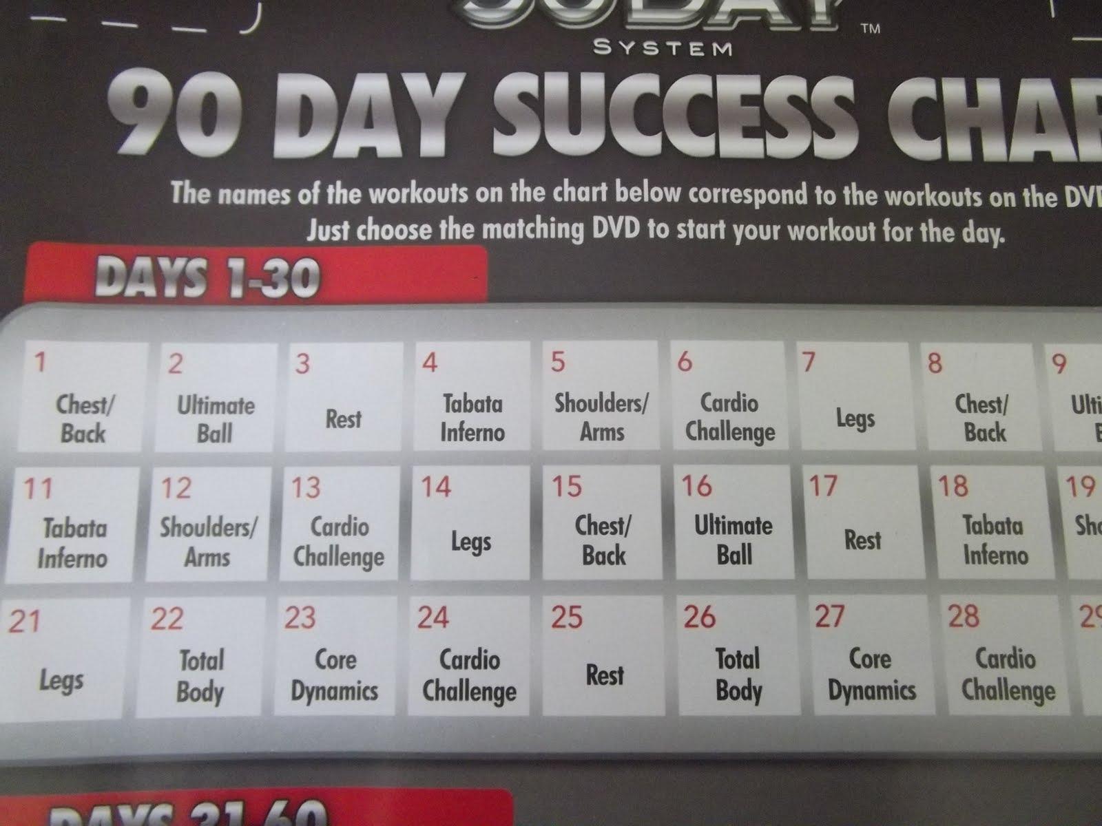Supreme 90 Day Workout Cardio Challenge - Workoutwalls