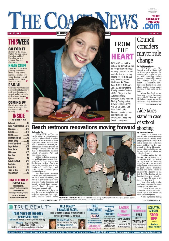 The Coast News, Jan 21, 2011 By Coast News Group - Issuu