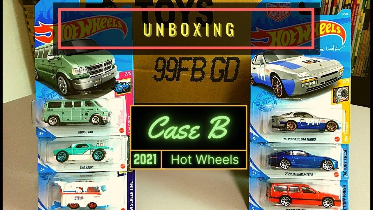 Unboxing - Hot Wheels Case B 2021