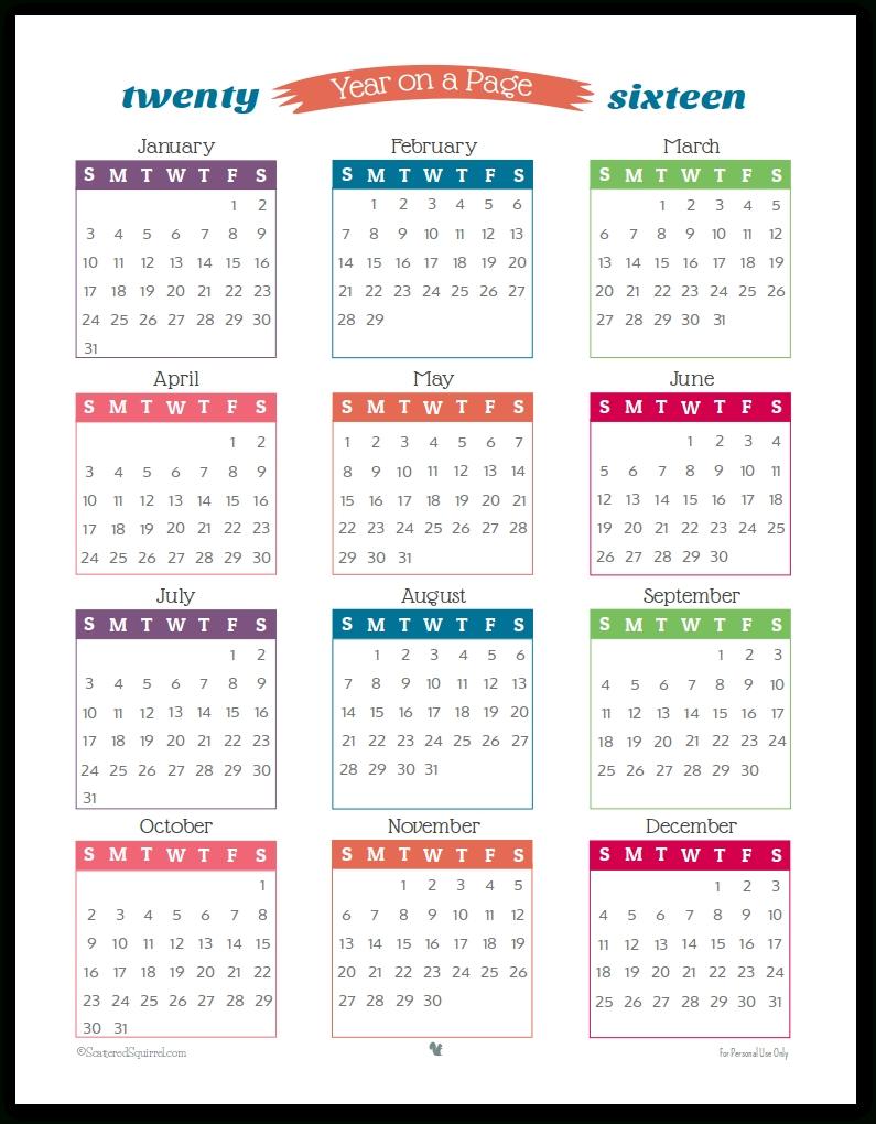 Understated Rainbow Planner Printables | Calendar Printables