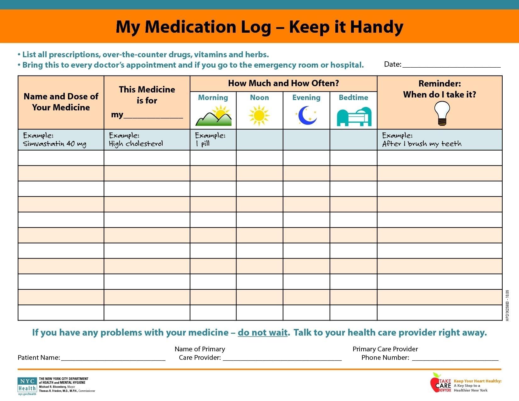 Universal 28 Day Calendar For Medication Di 2020