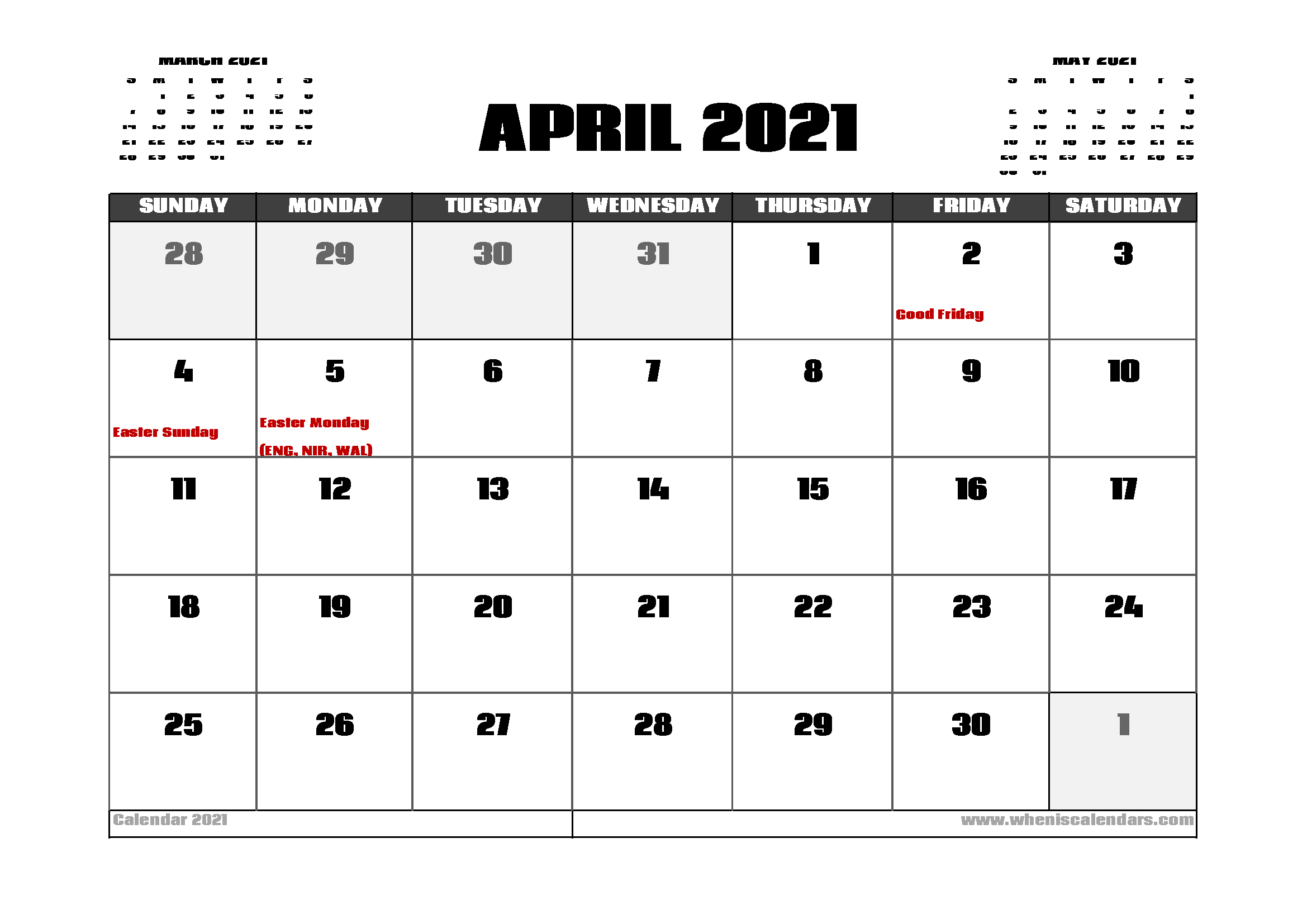 20+ 2021 Public Holidays - Free Download Printable