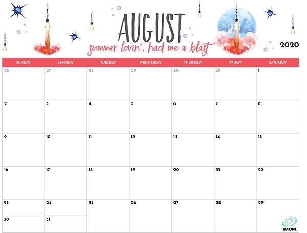 2020 Printable Calendar For Moms - Imom | Calendar