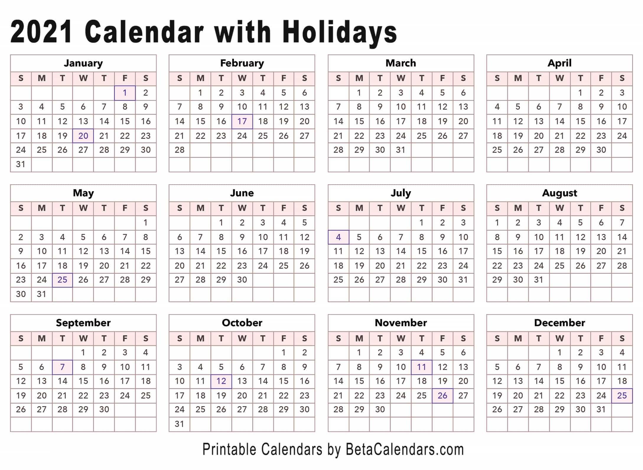 2021 28 Day Expiration Calendar | Calendar Template 2021