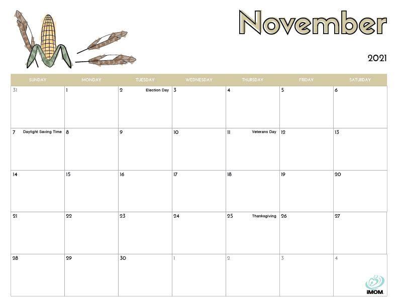 2021 Printable Calendars For Kids - Imom | Kids Calendar