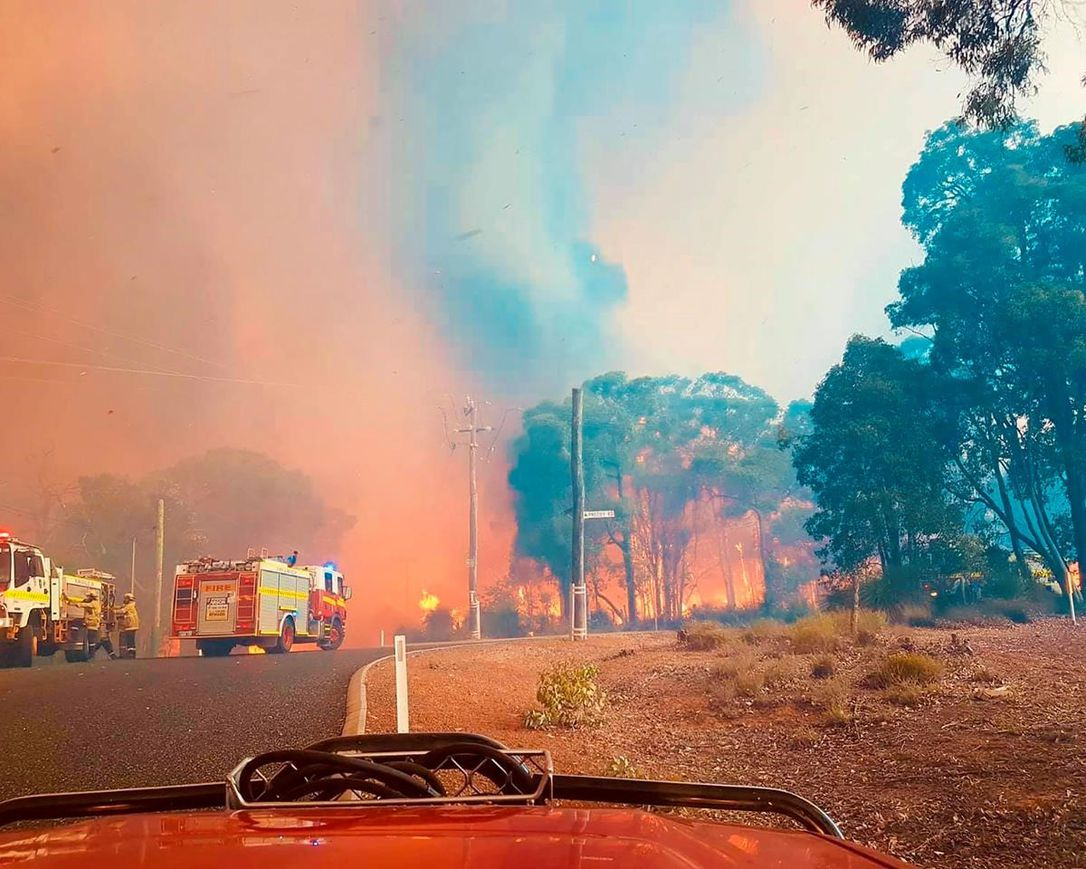 59 Homes Lost, More Threatened In Australian Wildfire