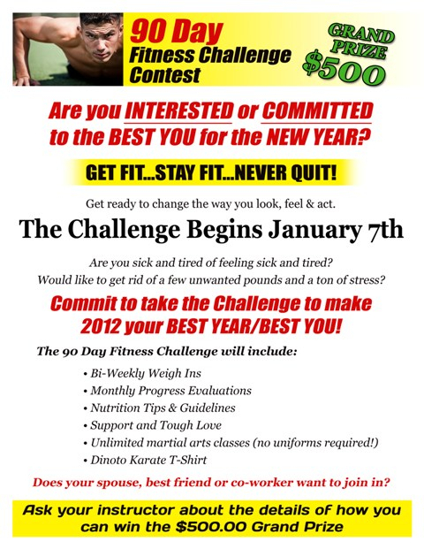 90 Day Fitness Challenge: 90-Day Challenge Info
