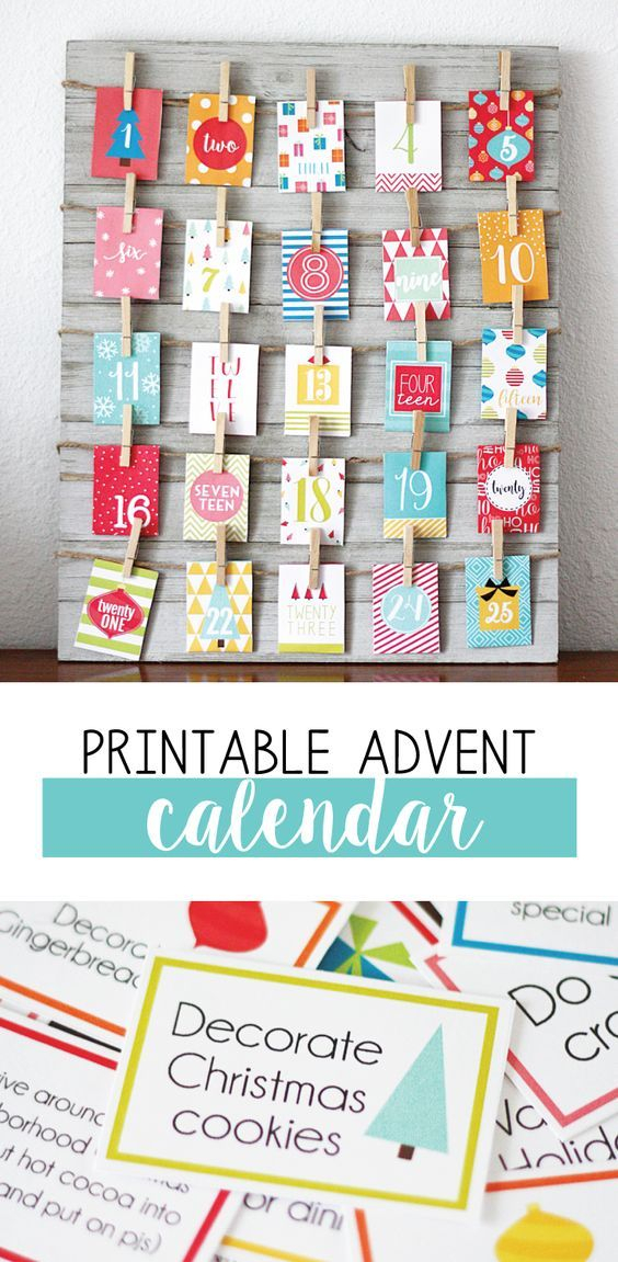 At Our House We Love A Good Advent Calendar This