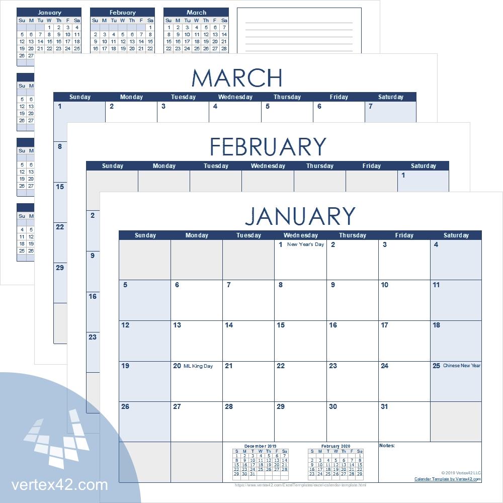 Best Free 90 Day Calendar Template | Get Your Calendar
