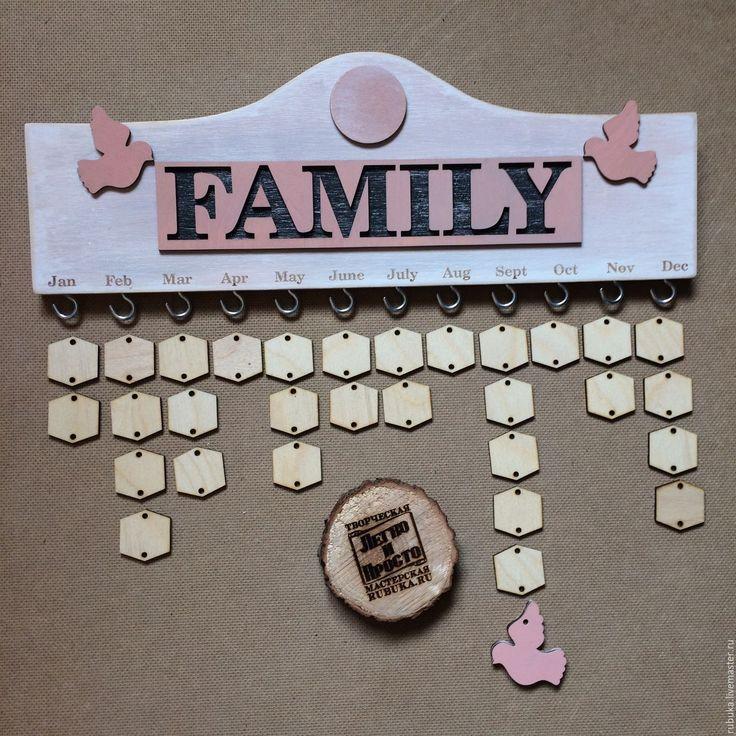Ручная Работа, Handmade | Календарь, Семейный Календарь