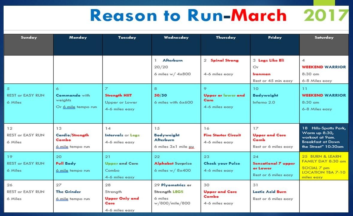 Free Monthly Training Program & Workout Plan | Abba