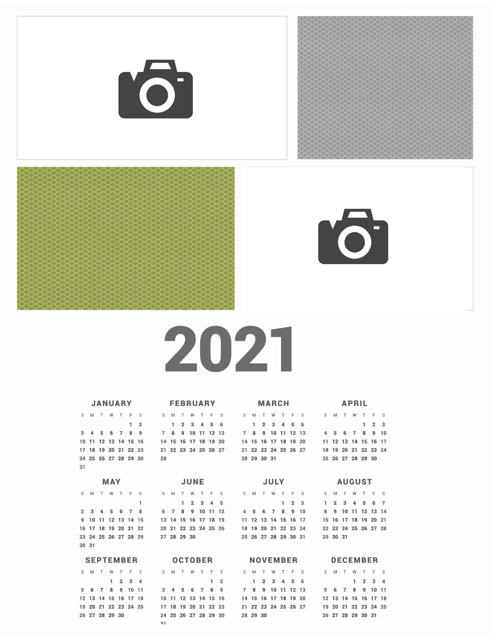 Free Photo Calendar Creator | Create Online & Print At Home