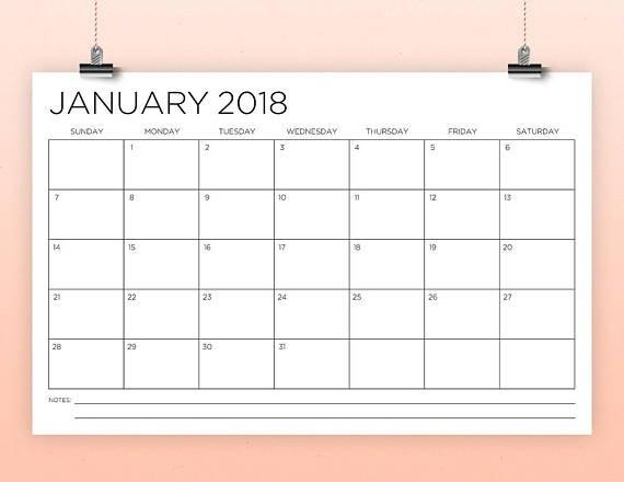 Free Printable 11 X 17Calendar Image | Calendar Template 2020