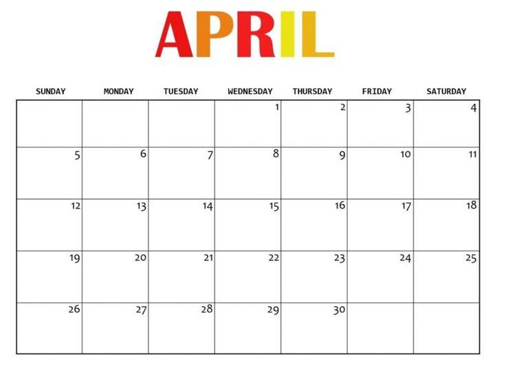 Free Printable Calendar 2020, 12 Month Calendar, Blank