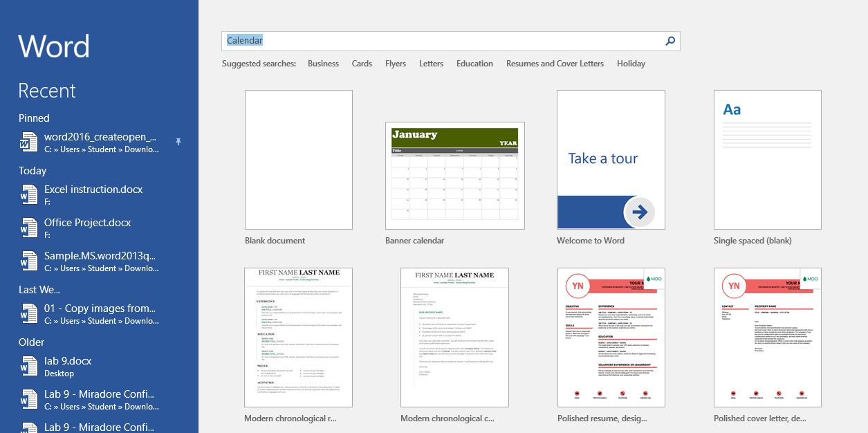 How To Create A Calendar In Microsoft Word - Matc