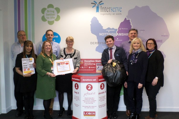 Interserve Construction Choose Loros As Its 'Charity Of