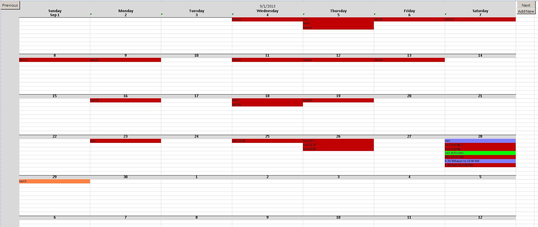 Microsoft Access Calendar Database Templatedownload Free