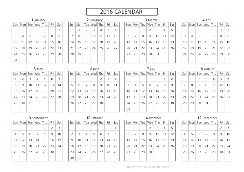 Printable Short Timer Calendar :-Free Calendar Template