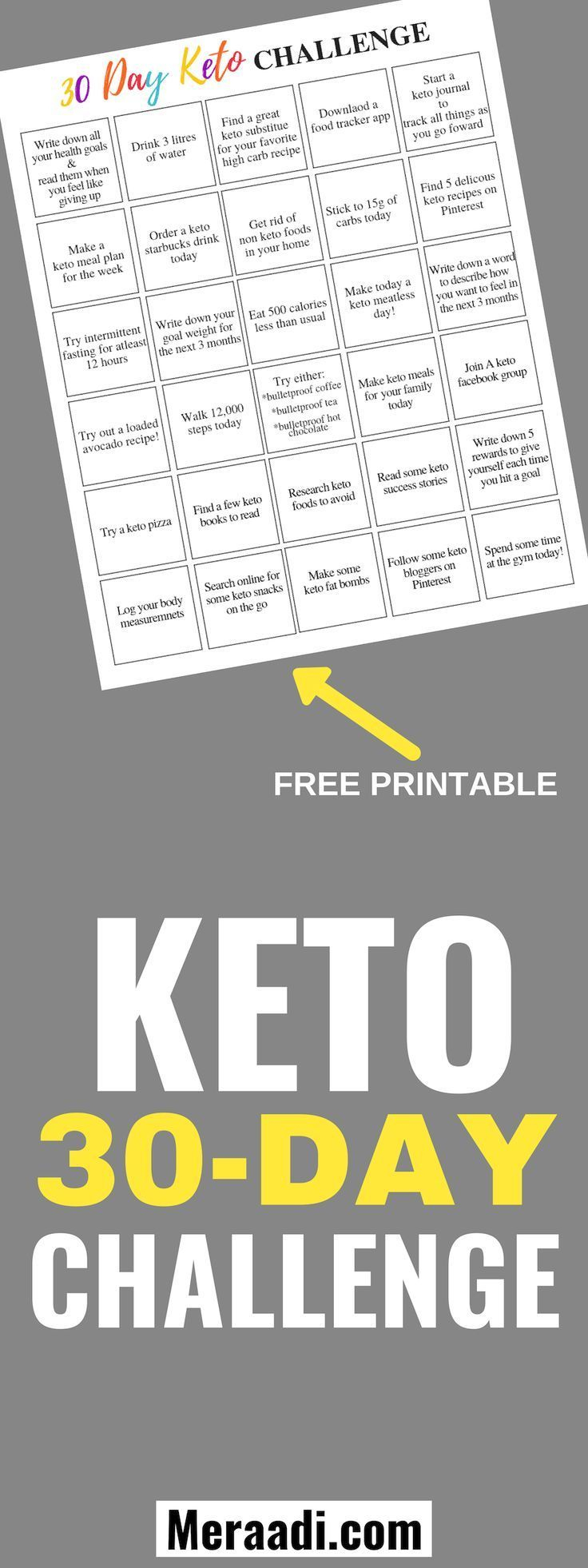 This Keto 30 Day Challenge Is The Best! I'M So Glad I