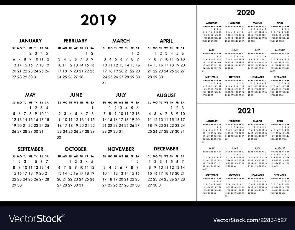 Week Of The Year 2020 | Calendar With Week Numbers 2020