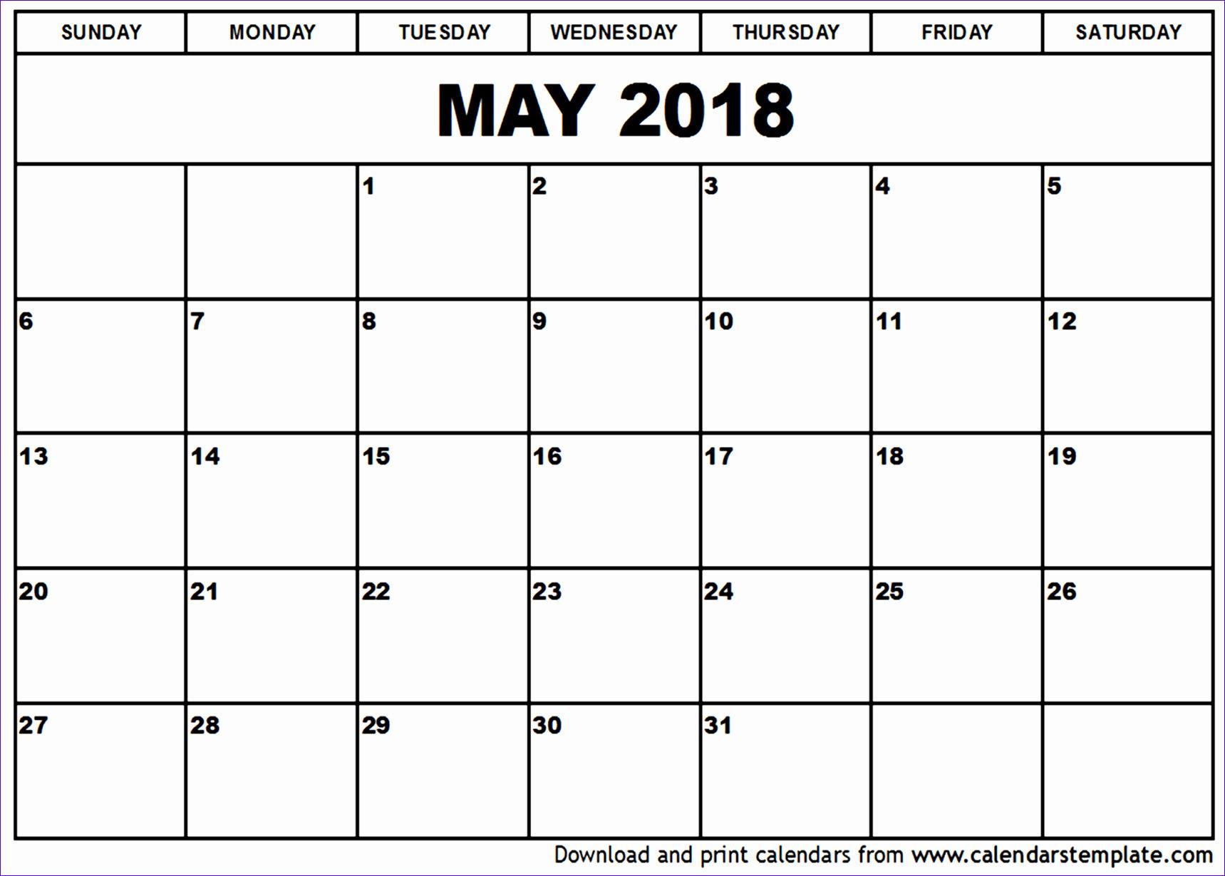 10 Free Calendar Templates Excel - Excel Templates